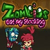 Zombies Eat My Stocking Game - Zombie Games