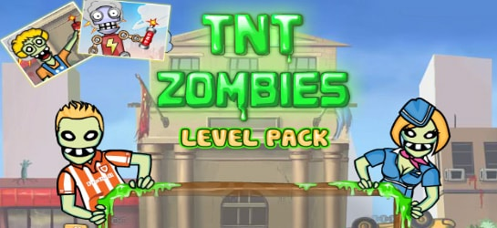 TNT Zombies - Level Pack Game - Zombie Games