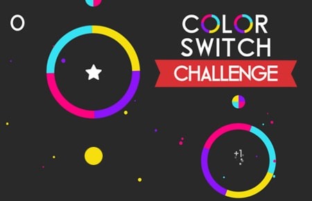 Color Switch Challenges Game - Arcade Games