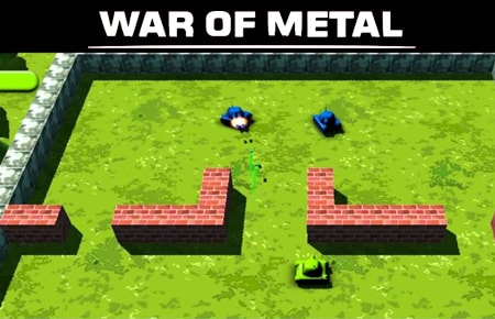 War of Metal Game - Action Games