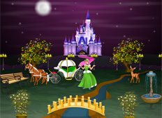 Cinderella Palace Game - Girls Games