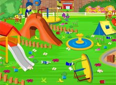 Kids Park Game - Girls Games