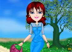 Sheer Spring Trends Game - Dress-up Games