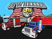 18 Wheeler 3D Game - Parking Games