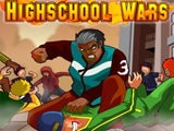 High School Wars Game - New Games