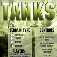 TANKS Game - New Games