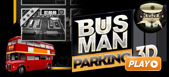 Bus Man Parking 3D Game - Parking Games