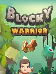 Blocky Warrior Game - Adventure Games