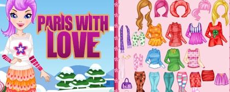 Paris with Love Game - ZG- Fashion & Fun Games