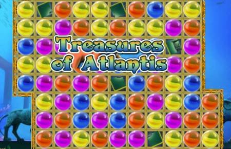 Treasures of Atlantis Game - Arcade Games