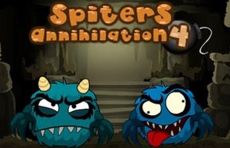 Spiters Annihilation 4 Game - ZG - Puzzles  Games