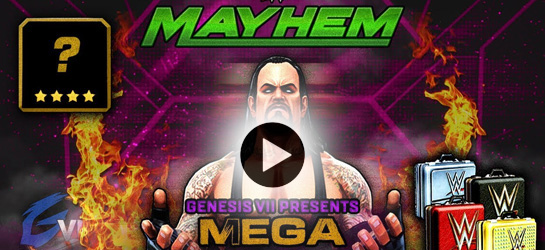 FIRST 4 STAR SUPERSTAR LOOTCASE SURPRISE!! | WWE Mayhem #2 Game - Game_Videos Games