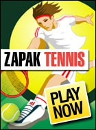 Zapak Tennis Game - Sports Games