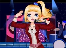 Anime Rock Star Game - Girls Games