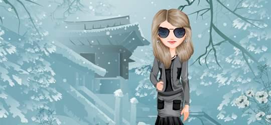 Punk Winter Game - Girls Games