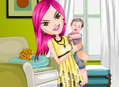 Lovely Baby Sitter Game - Girls Games