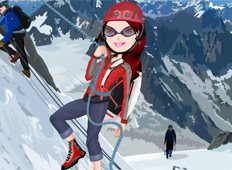 Snow Challenge Game - Girls Games