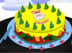 Christmas Cake Decoration Game - Girls Games